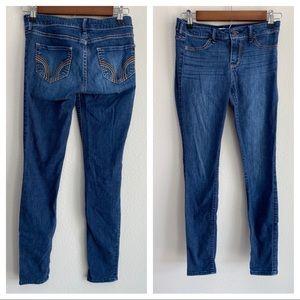 Hollister Medium Wash Low Rise Jean Jegging 1R